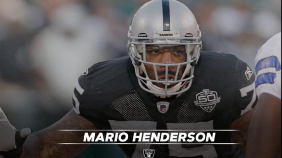 Muere a los 35 años el ex jugador de los Raiders Mario Henderson