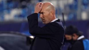 Zidane, situación delicada