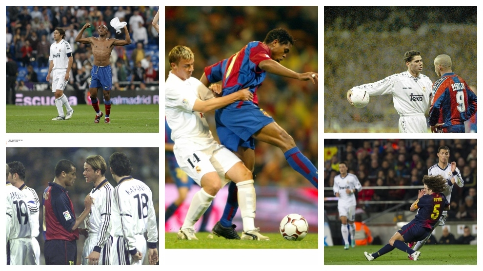 Former Barcelona and Real Madrid players preview El Clasico