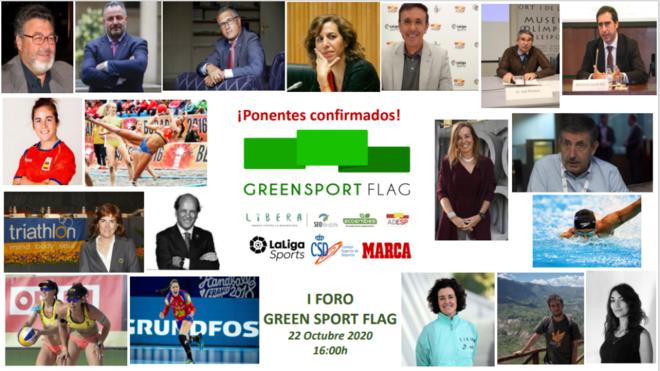 El I Foro Green Sport Flag de Deporte y Medio Ambiente, en directo