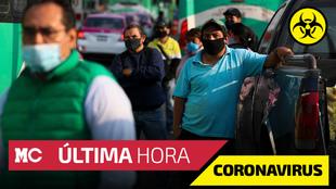 Casos confirmados y muertes por Covid-19 en México al 22 de octubre.|