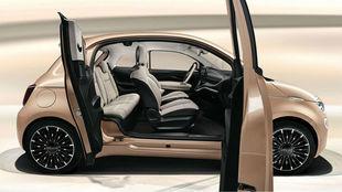 El Nuevo Fiat 500 3+1 con tres puertas laterales para familias.