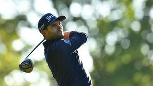 Adri Arnaus durante el BMW PGA Championship.