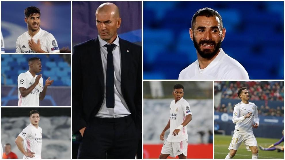 Zidane ne peut pas se contenter de son attaque