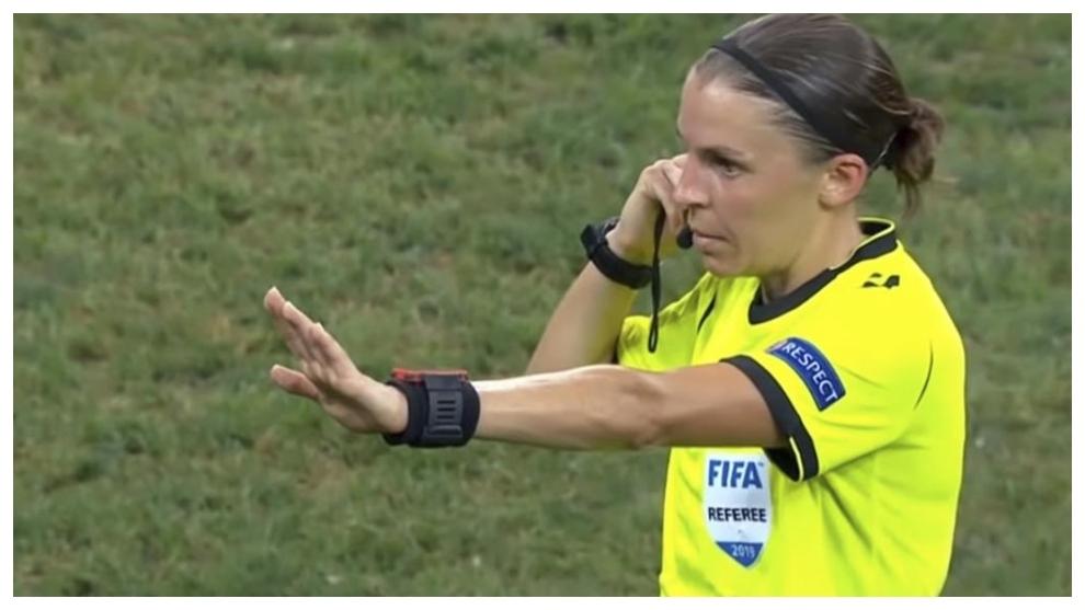 Europa League: Stéphanie Frappart hace historia en la ...