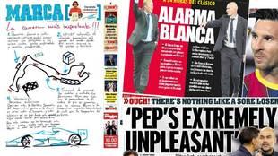 'La carrera más importante!!!', 'Alarma Blanca'...