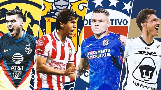 El calendario que le resta al América, Chivas, Cruz Azul y Pumas para evitar el repechaje