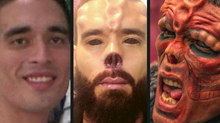 Henry Rodríguez, un tatuador venezolano afincado en Ourense, ha...