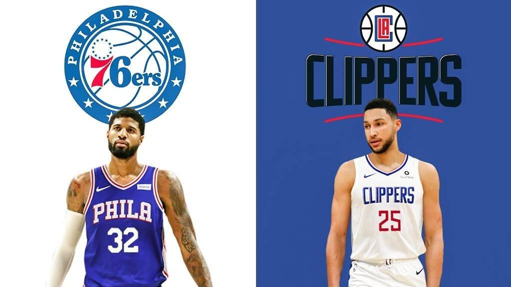 Los Clippers podrían traspasar a Paul George a cambio de... ¡Ben Simmons!