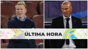 El Clasico, FC Barcelona - Real Madrid: Ruedas de prensa Zidane,...