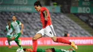 Darwin Núñez durante el partido de la Liga Portuguesa entre el...