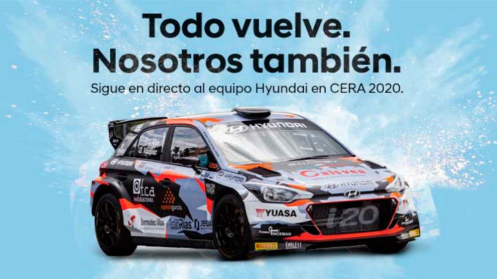 El rally es puntuable para el Campeonato de España de Rallies de...