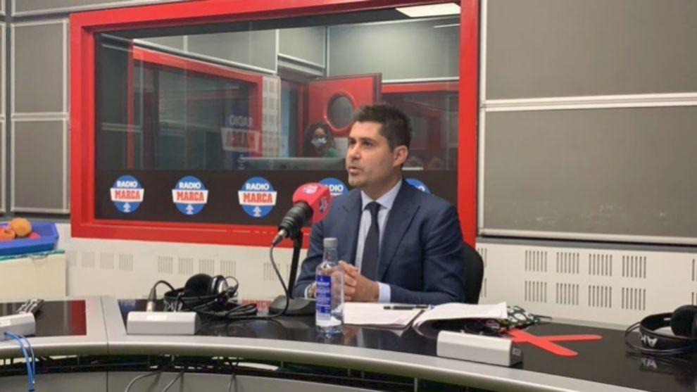 """David Aganzo: """"Soy independiente de Tebas y de Rubiales"""""""
