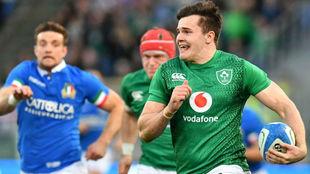 Una jugada del Irlanda e Italia del año pasado.