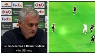"""El motivo por el que Mou vaciló a Hojberg: """"No eres Zidane"""""""