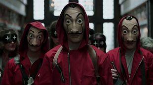 Fotograma de la serie de televisión 'La casa de papel'