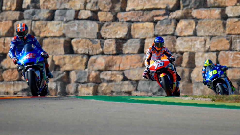 Horarios y donde ver en TV el Gran Premio de Teruel de MotoGP 2020,...