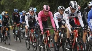 El pelotón del Giro de Italia