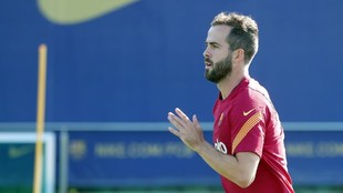 Miralem Pjanic, jugador del Barcelona.