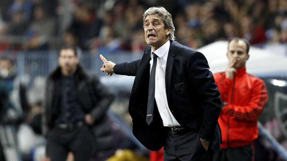 Pellegrini, ante el Atlético con el Málaga