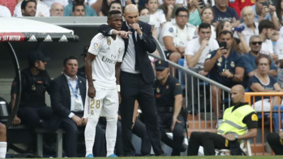 Vinicius and Zidane