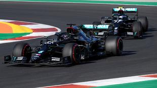 Bottas, el más rápido en las segundas prácticas del GP de Portugal.