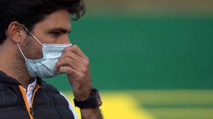 Carlos Sainz, en el circuito de Portimao.
