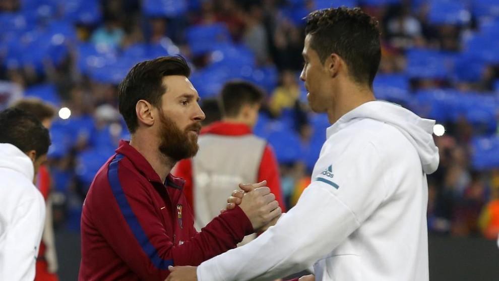 Leo Messi and Cristiano Ronaldo
