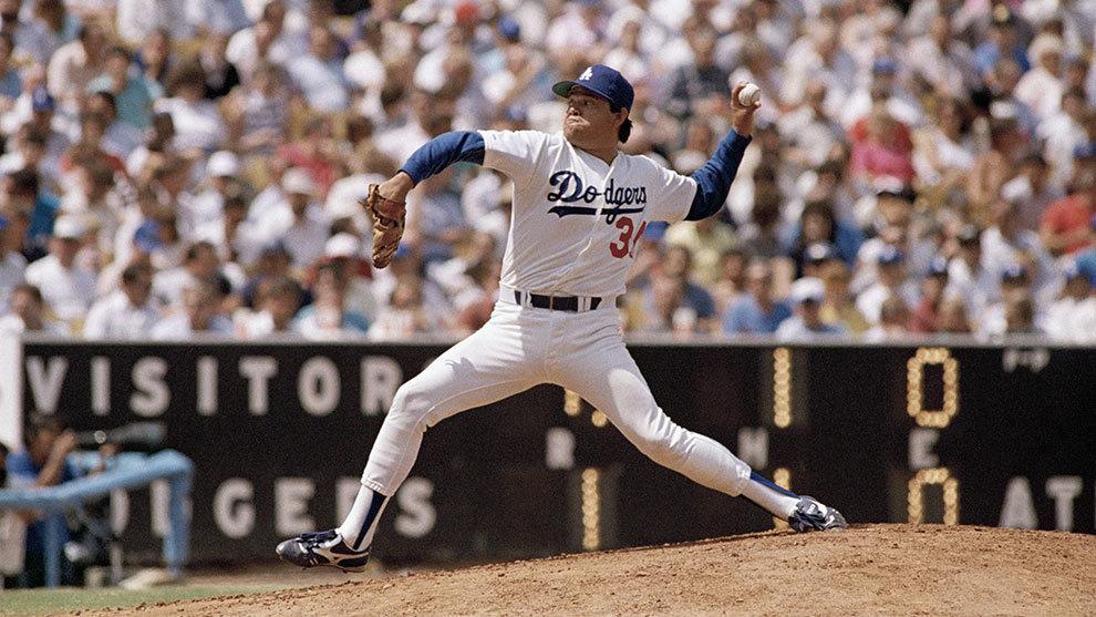 Con los Dodgers, Fernando Valenzuela fue el primer mexicano en abrir...