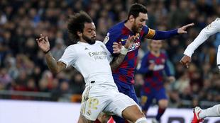 El primer clásico del año, disputado el 1 de marzo en el Bernabéu.