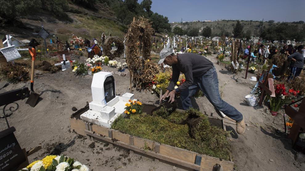 La gente no podrá asistir en Día de Muertos a los cementerios de la...