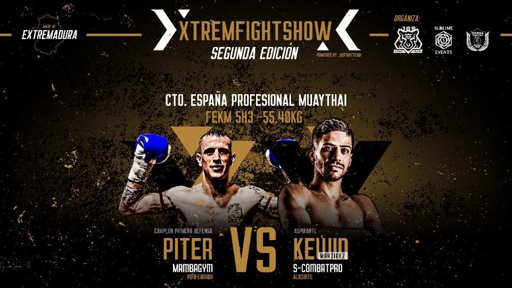 El II Xtrem Fight Show ofrecerá ocho combates