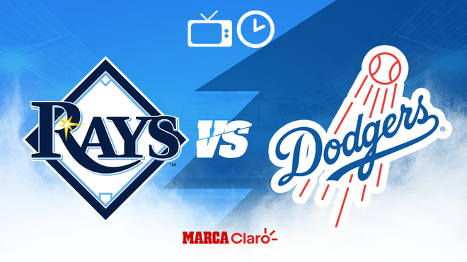 Tampa Bay Rays vs Los Angeles Dodgers: Horario y dónde ver.