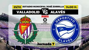 Valladolid - Alavés. Horario y dónde ver en TV el partido de la...