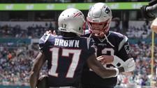 Antonio Brown se reuniría con Tom Brady en Tampa Bay
