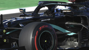 Valtteri Bottas, durante los Libres 3 del GP de Portugal.