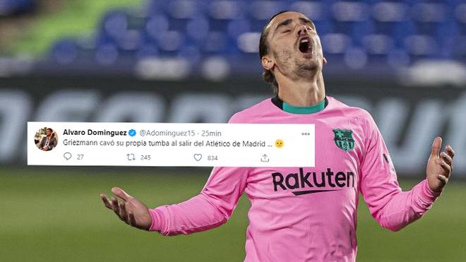 Alvaro Dominguez: Griezmann dug his own grave when he left Atletico Madrid