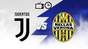 Juventus recibe al Hellas Verona