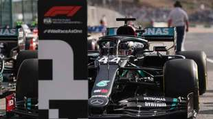 Hamilton, pole position en el GP de Portugal.