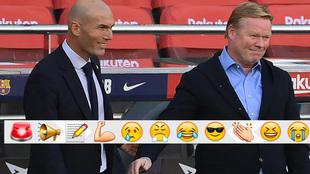 Zidane and Koeman.