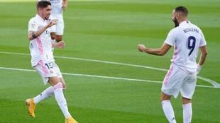 El uruguayo fue uno de los mejores del Real Madrid en el Camp Nou.