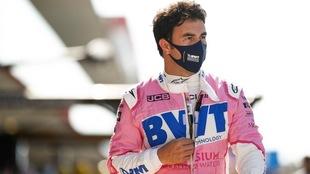 Checo Pérez, confiado de terminar en la parte alta del GP de...
