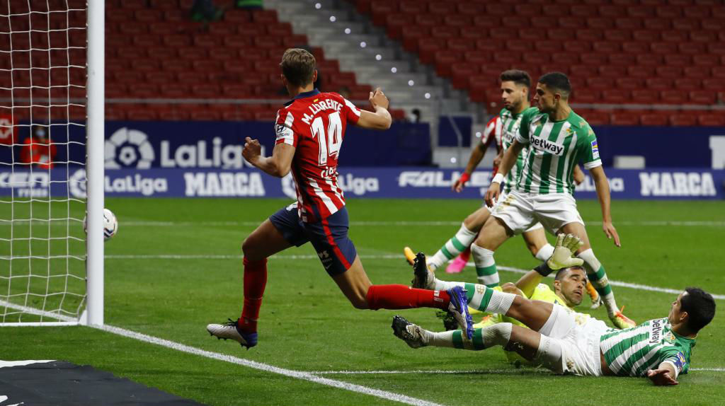 Atletico 2-0 Betis.