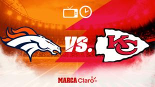 Kansas City Chiefs vs Denver Broncos: Horario y dónde ver en vivo.
