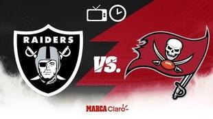 Tampa Bay Buccaneers vs Oakland Raiders: Horario y dónde ver.
