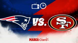 New England Patriots vs San Francisco: Horario y dónde ver. MARCA...