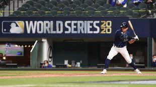 Yoshitomo Tsutsugo, de los Tampa Bay Rays