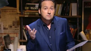 Iker Jiménez, durante la emisión de un programa de 'Cuarto...