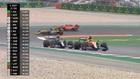 Sainz hace magia: ¡lideró la carrera cinco vueltas!