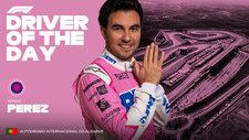 Checo Pérez, Piloto del Día y suma puntos para convencer a Red Bull